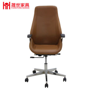 Luxury High Grade Leather Office Chair Manufacturer Swivel Computer