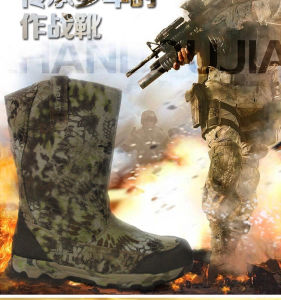 Old Fashion Design! Tactical Gears Desert Water-Proof Military Tactical Outdoor Camping Travel Leather Strong Rubber Sole Boot pictures & photos