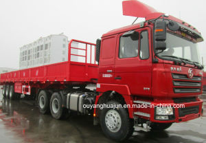 12.5 Meters Flatbed Semitrailer with Side Wall