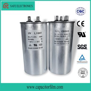 Cbb65 Anti-Explosion Metallized Polypropylene Film Capacitor pictures & photos