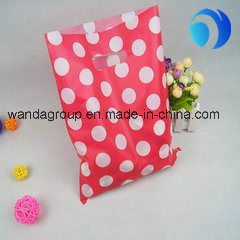Customized Shopping and Gift Plastic Die-Cut Bag