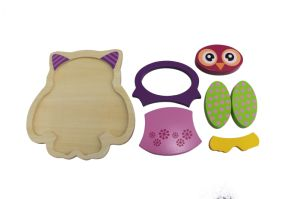 Hot Christmas Gift Wooden Owl Puzzle Toy for Kids and Children pictures & photos