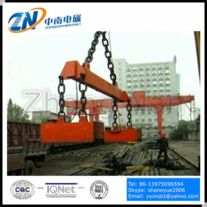 High Temperature Type Steel Billet Electro Lifting Magnet MW22-14070L/2 pictures & photos