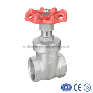 Stainless Steel Female Thread Gate Valve pictures & photos