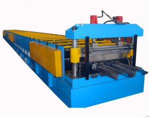 Steel Tile Cold Metal Roofing Decking Roll Forming Machine pictures & photos