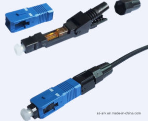 Sc Singlemode Sx FTTH Fast Connector pictures & photos