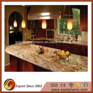 China Delicatus Gold Granite Countertops For Kitchenworktop China