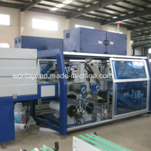 40-45packs/Min Shrink Film Wrapping Machine (WD-450A) pictures & photos
