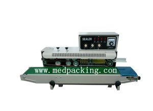 Frd 1000 I Continuous Sealing Machine Automatic Bag With Color Coding And