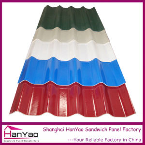 Anti Corrosion Recyclable Color Steel Roof Tiles pictures & photos
