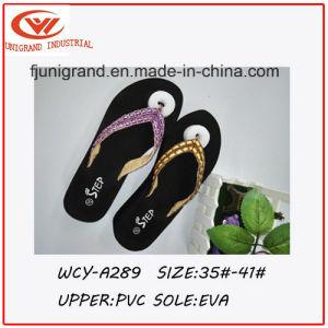 8479fd34d3ae0a China 2016 Fashion Design Shining Ladies′ Flip Flops - China Fashion ...