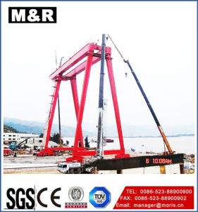 0.75 Ton Gantry Crane of High Quality pictures & photos