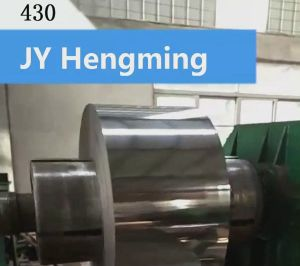 Cold Rolled Steel Coil 430 in Ba Surface