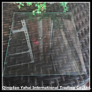 4mm Clear Float Glass with Rough Grinding Bevel Edge pictures & photos