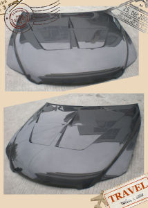 Carbon Fiber Hood for Toyota Mark X/Reiz 2005-2010 pictures & photos