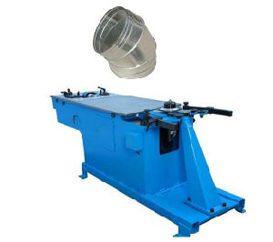 Round Duct Elbow Making Machine pictures & photos