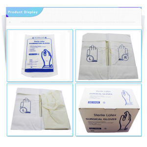Latex Surgical Gloves, Latex Examination Glove pictures & photos