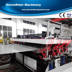 Plastic PP PE PC Hollow Sheet Panel Line Machine pictures & photos