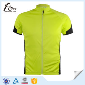 OEM Men′s Sport Short Sleeves Jersey Coolmax Cycling Jersey