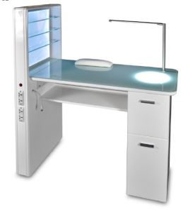 China 2016 Modern Manicure Nail Table for Sale - China Nail ...