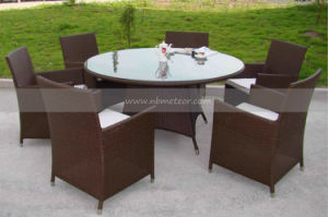 Mtc-069 Outdoor Rattan Round Table and Chair Set