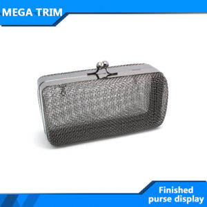 Finish Iron Metal Mesh Purse Frame pictures & photos
