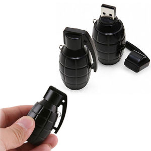 Plastic Creative Grenade USB Stick Pendrive Flash Drive pictures & photos