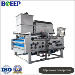 Belt Filter Press Dewatering Machine for Wastewater Treatment Plant pictures & photos