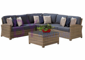 by-472 Brown Sectional Garden Sofa Furniture Outdoor