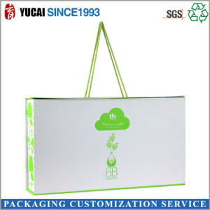 Elegant Green Carrying Paper Boxes with Customer Logo pictures & photos