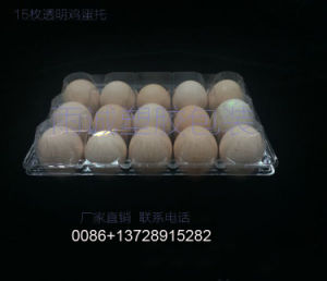 PVC Egg Container Packing Box (plastic tray) pictures & photos