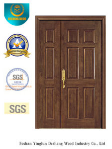 European Style MDF Double Door for Interior (xcl-023) pictures & photos
