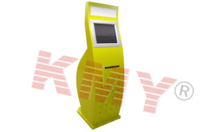 China Arched Free Standing Boarding Pass Printer Kiosk China