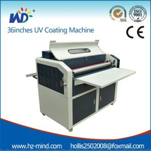 36 Inches Paper UV Coating Machine, UV Embossing Machine (WD-FLMB950) pictures & photos