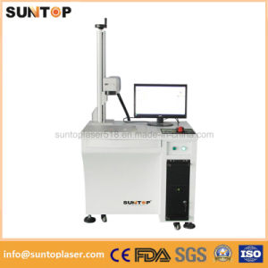 20W Fiber Laser Marking Machine for Aluminum Data Matrix and Qr Code Marking pictures & photos