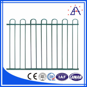 White Powder Coated Alloy 6063-T5 Aluminum Fence for Sale pictures & photos