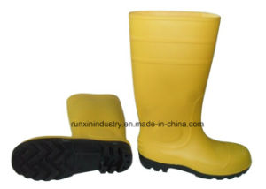 Safety PVC Rain Boots with Steel Toe 106yb pictures & photos
