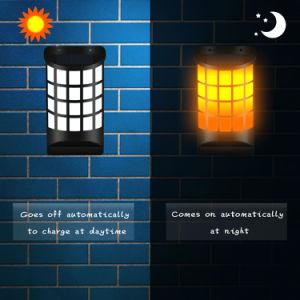 No Wiring Solar Wall Light Like Flame