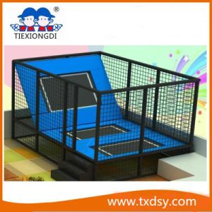 Safety Indoor Trampoline Park, High Quality Popular Indoor Sports Equipment pictures & photos