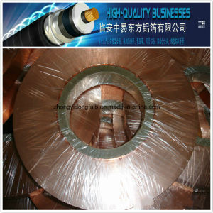 Hot Sale Polyester Insulation Cu/Pet Copper Foil for Coaxial Cable