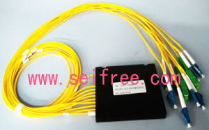 1X9 Fiber Optic CATV Splitter Fused Splitter with Lu-SA Connector pictures & photos