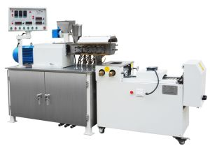 700 Kg/Hr Two Screw Extruder for Powder Coatings pictures & photos