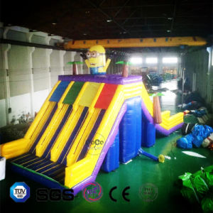 Coco Water Design Inflatable Minion Theme Slide Castle LG9088