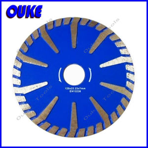 Continuous Rim T Segment Turbo Curved Diamond Saw Blade