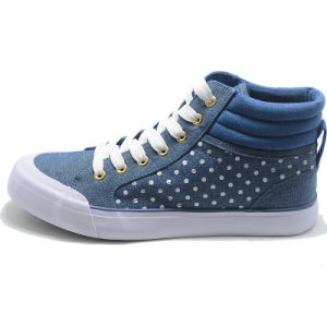 New Basil Classical Canvas Vulcanization High Top Quality Leisure Men Shoes pictures & photos