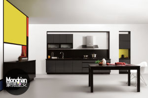Popular Acrylic Faced Kitchen Furniture (zv-018)