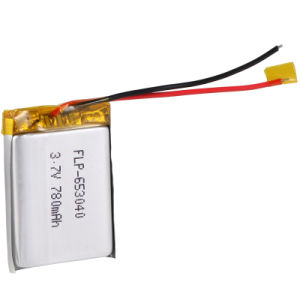 Lithium Battery 3.7V 780mAh Rechageable Battery Pack