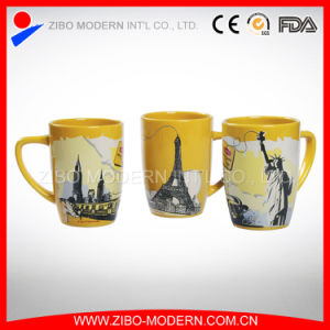 Custom Decal Design Painting Promotional Ceramic Tea Mugs pictures & photos