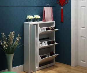 Solid Wooden Shoe Rack Cabinet (M-X2096) pictures & photos