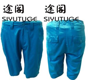 Mens Fashion Cotton Pocket Garment Dyed Shorts pictures & photos